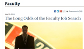 Chronicle: The Long Odds of the Faculty Job Search