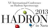 Hicks Speaks at Hadron 2013 International Conference