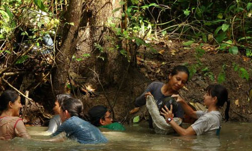 Alum Gets Prize for Turtle Conservation Work in Colombian Amazon