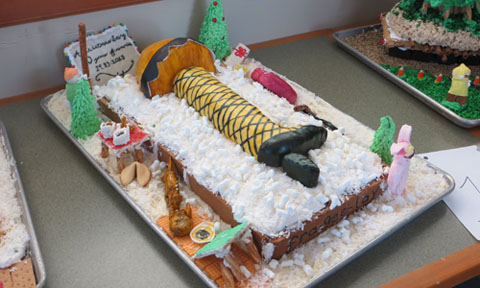 """The Arts & Sciences team chose the theme of """"A Christmas Story"""" on the movie's 30th anniversary."""