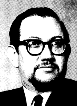 Daniel Keyes, from a 1970 Midwest Writers Conference.