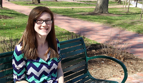 Ashley Maupin. Photo by Andrea Gibson/Ohio University.