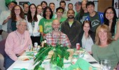 Molecular and Cellular Biology seminar and St. Patrick's Day celebration.