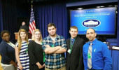 Michael Outrich goes to Washington to help foster care students.