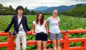 Three Undergrads Travel to Japan to Help Study Immigration