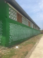 School built from plastic bottles