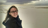 Annalycia Liston-Beck at the White Sands National Monument in New Mexico.