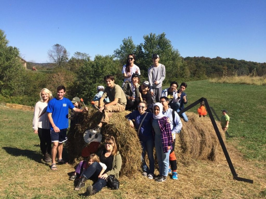 OPIE News | Sister Learning Communities Visit Libby's Pumpkin Patch