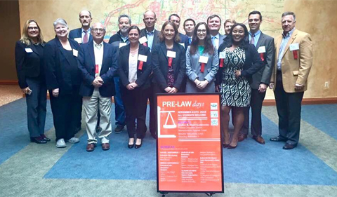 2016 Pre-Law Day attendees