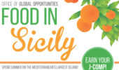 Summer 2017 | Food in Sicily Info Session,  Jan. 18