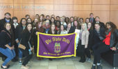 Phi Alpha Delta touring John Marshall Law School in Chicago.