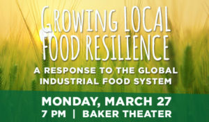 Food for Thought | Dr. Vandana Shiva, March 27