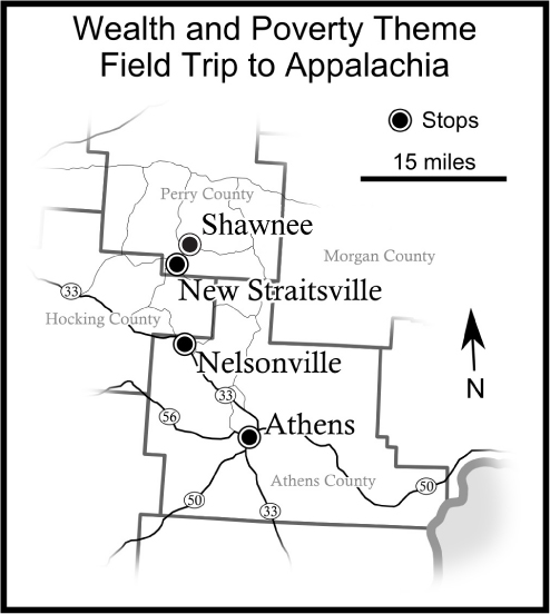 Wealth and Poverty   Field Trip to Appalachian Communities, March 25