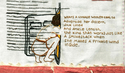 Graduate Student's Embroidery Appears in Digital Quilt Publication