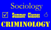 Summer 2017 | Online Sociology, Criminology Classes