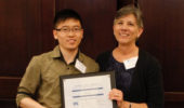 Quyen Luong  was awarded second place in the graduate student poster contest.