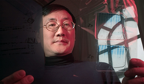 Dr. Shiyong Wu, shown here in his lab.