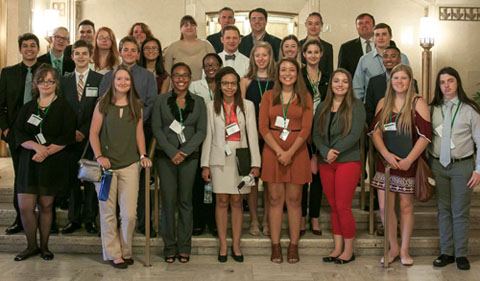 Summer Law and Trial Institute 2017 Cohort group photo
