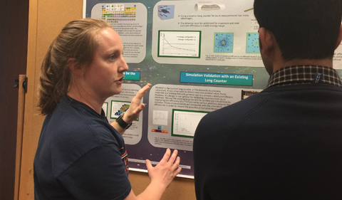 Doctoral student Kristyn Brandenburg presents, The Unknown Origin of the Elements from Zinc to Tin
