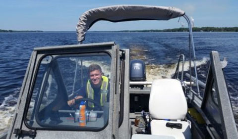 James Fox | Navigating Florida Water Resources in USGS Internship