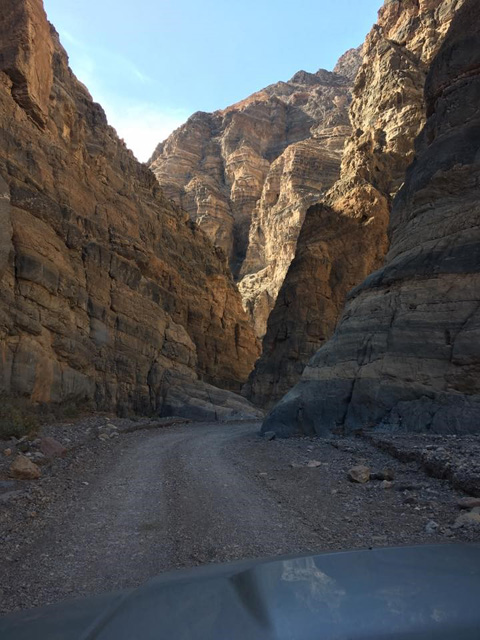 Death Valley's Titus Canyon