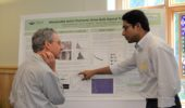 Ph.D. student Nilaj Chakrabarty discussed his work with invited keynote speaker and OSU professor Anthony Brown.