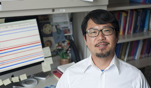 Dr. Joseph Lee, shown here in his office