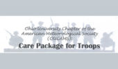 OUCAMS Collecting Care Package for Troops, from Nov. 27-30