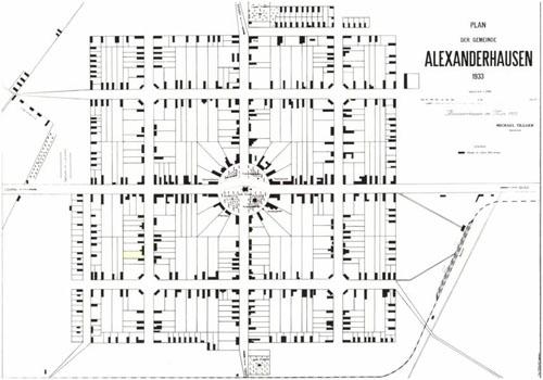 Alexanderhausen Map