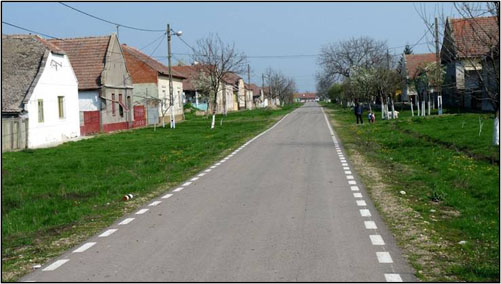 Lenauheim street scene
