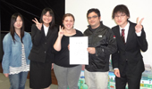 Student Helps Japanese Students Translate Environmental Project, Takes Second
