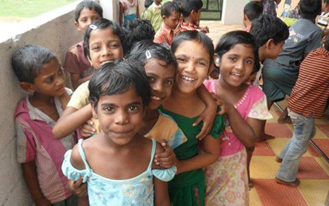 Children at Sphoorti, Hyderabad, India