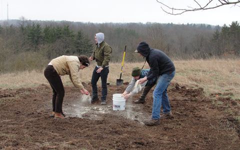Ridges Land Lab Dedicated to Research for Quarter Century
