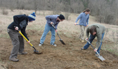 Plant Bio Students Aim for Color on Radar Hill