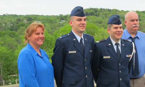 2nd Lt. McKenzie Reports for Duty at Kapaun Air Station, Germany