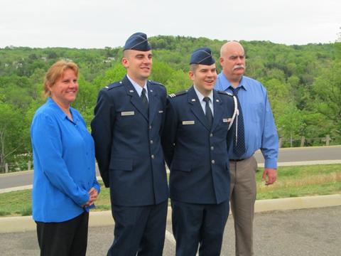Thomas McKenzie and family