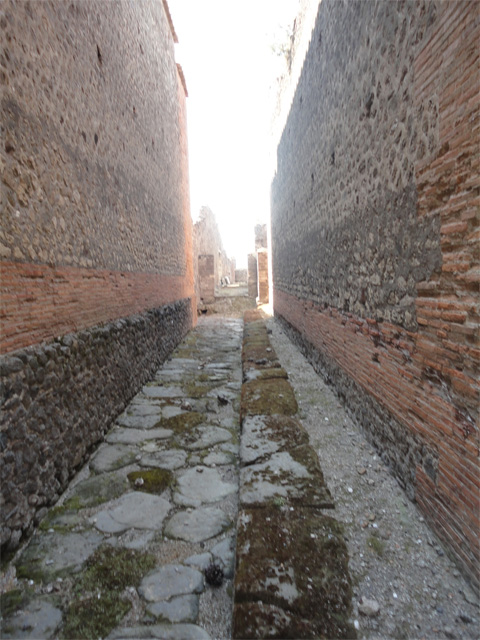 A street in Pompeii