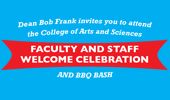 A&S Faculty and Staff Welcome Celebration, Sept. 9