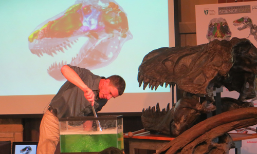 How Much Snot Does a T Rex Sneeze?