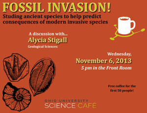 Fossil Invasion Science Cafe