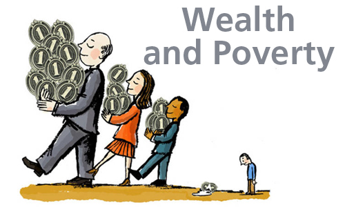 Wealth and Poverty: Within and Between Countries