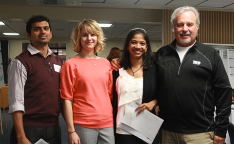 Molecular & Cellular Biology Graduate Students Win at Regional Conference