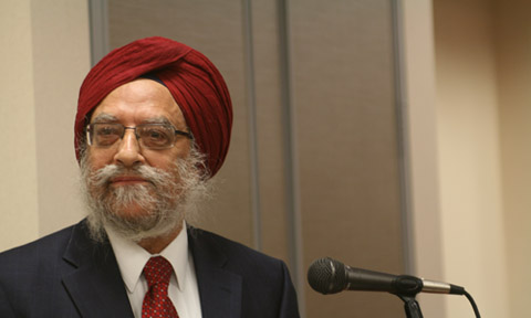Dr. Amritjit Singh. Photo by Noopur Banerji