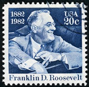 FDR stamp