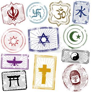 religions graphic
