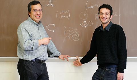 Sergio Ulloa and Mahmoud Asmar
