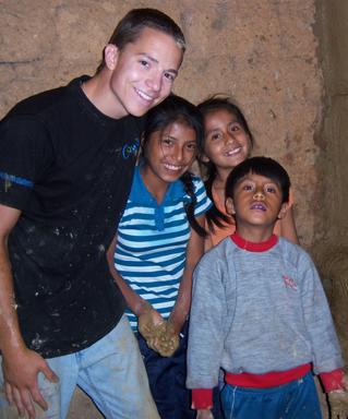 Jackson Lavelle '14 in Peru