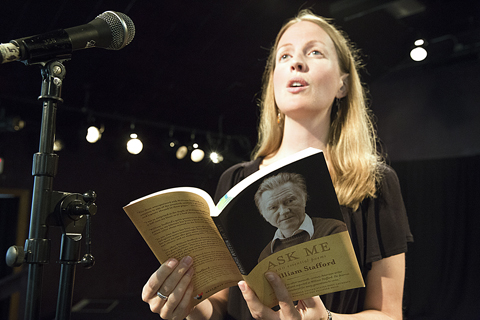 Becca J.R. Lachman reads a favorite Stafford poem