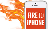 Fire to iPhone theme icon