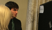 Undergrad Adam Cook Presents on Revealing Novel Genes in Gravity Research